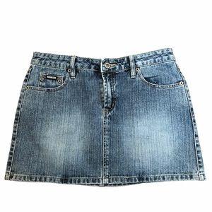 Squeeze mini skirt